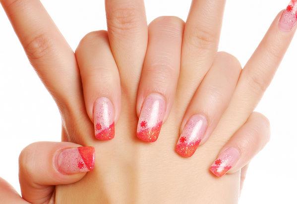 Mani pedi manicures reba salon and supplies for Acrylic nails salon prices